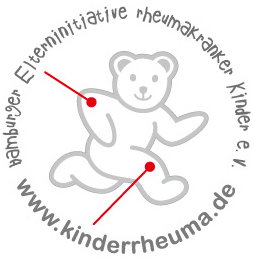 Logo -Hamburger Elterninitiative rheumakranker Kinder e.V.